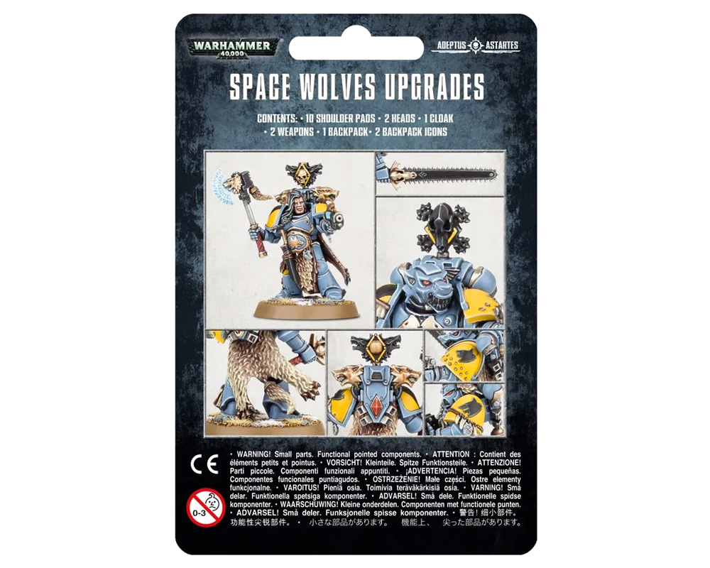 Фотография Space Wolves Upgrade Pack [=city]