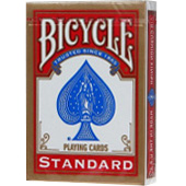 Фотография Карты для покера Bicycle Standard, красные [=city]